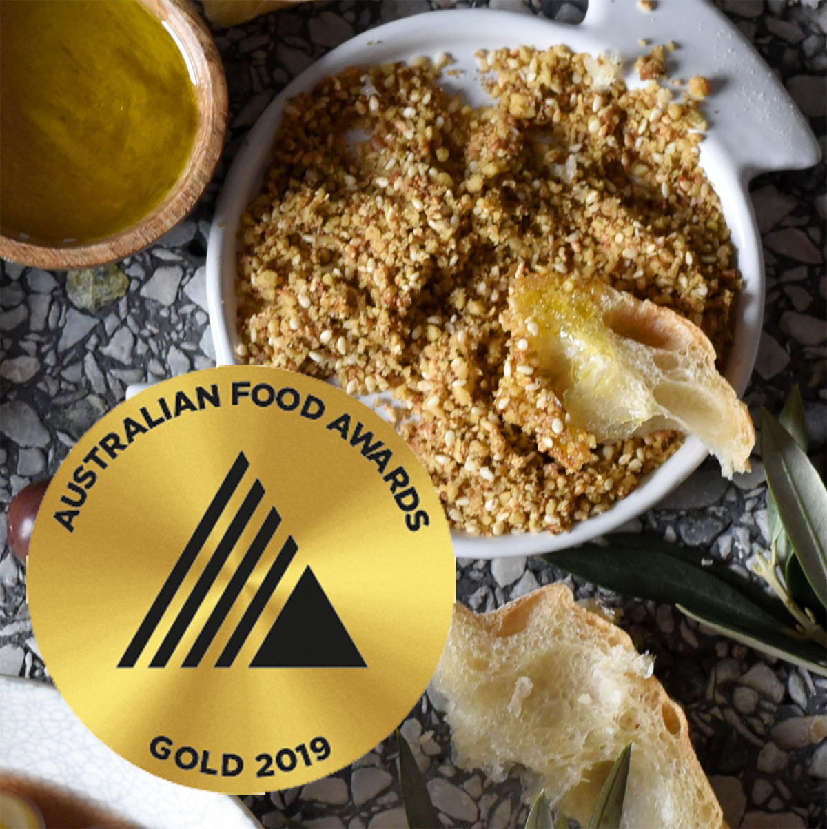 Gold at Australian Food Awards